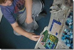 Mosaics, Guinneas and Lego hero 2012-04-19 021
